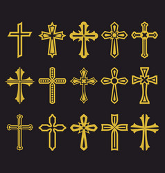Big set of cross vector