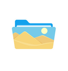 Folder image photo photography picture icon vector