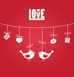 love valentines day love valentines day vector image