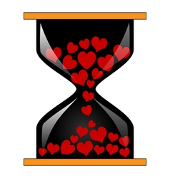 Time for love vector image vector image