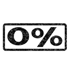 0 percent watermark stamp vector
