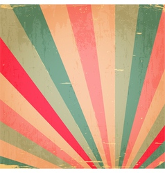 Abstract Colorful Grunge Rays Background vector image