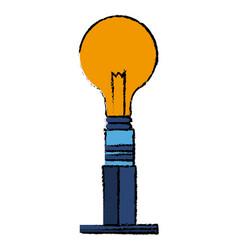 Ceiling bulb light electricity energy vector