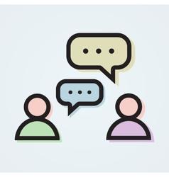 Dialogue vector
