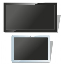 Displays set vector