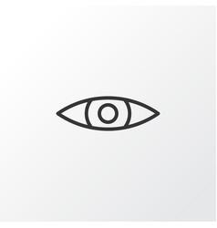 Eyes icon symbol premium quality isolated glance vector