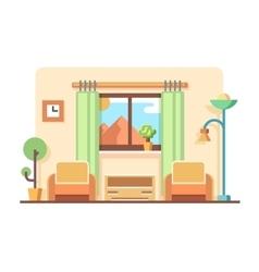 Living room concept vector