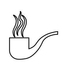 Pipe icon image vector