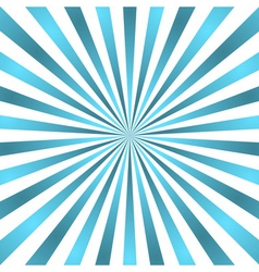 Blue white rays poster star burst vector
