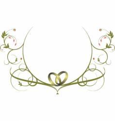Calligraphy ornament vector
