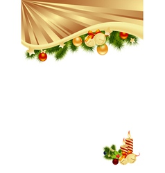 gold background vector image vector image