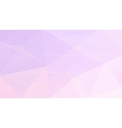 Abstract purple polygonal geometric background vector