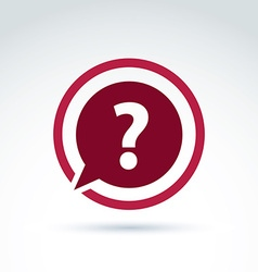 Dissemination of information theme icon faq vector