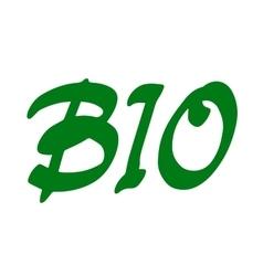Word Bio vector image vector image