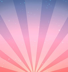 Abstract vintage sunrise background vector