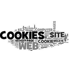 Are cookies evil what service do cookies perform vector