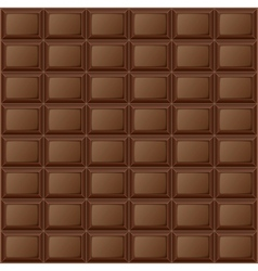 Background chocolate bar vector image