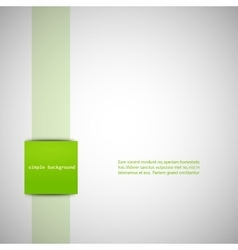 Simple gray background with color inserts vector