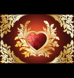 Valentine antique vector