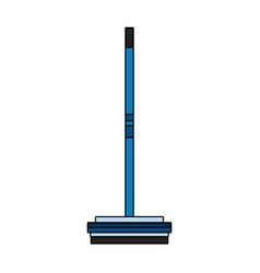 Broom house cleaning related icon image vector