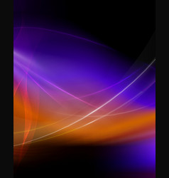 Dark colorful background vector