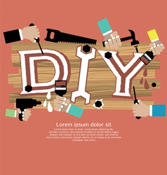 Diy concept eps10 vector