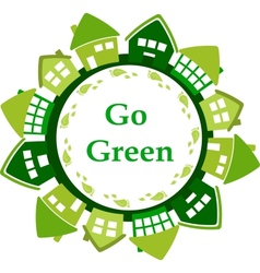 go green vector image vector image