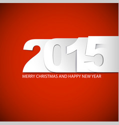 Original new year 2015 card vector