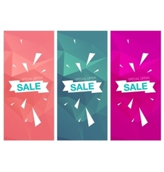 Super Sale Special Offer vertical banners vector image