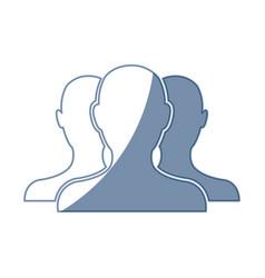 People community network team digital vector