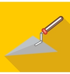Trowel icon flat style vector