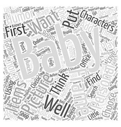 Baby picture frames word cloud concept vector