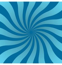 Blue rays poster star shine retro wavy vector