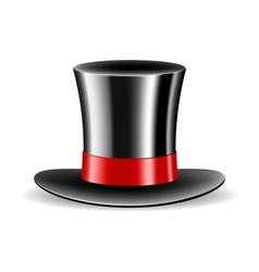 Cylinder magic hat vector image
