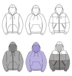 Hoodies vector