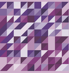 Abstract background with purple tone triangles vector