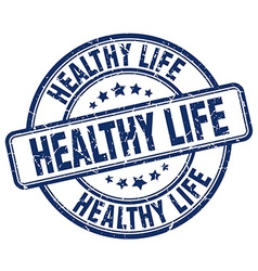 Healthy life stamp vector