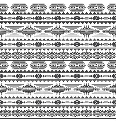 aztec culture seamless pattern mexican vector image vector image