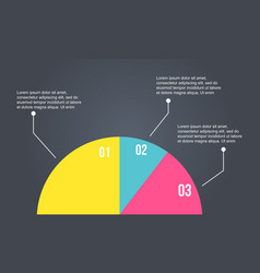 Business infographic diagram style collection vector