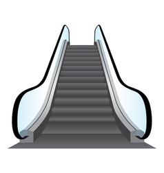 Escalators background vector