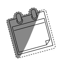 Scrapbook paper card vector