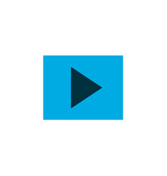 Slideshow icon colored symbol premium quality vector