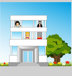 House and occupant vector
