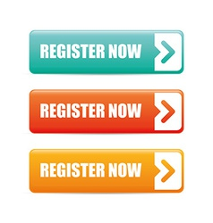Register now design vector