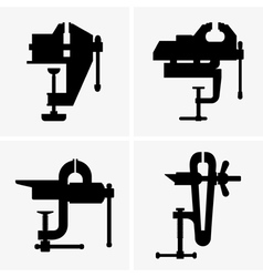 Bench vice vector