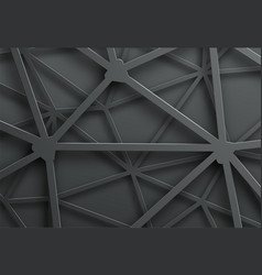 Abstract dark background with pattern of cobweb vector