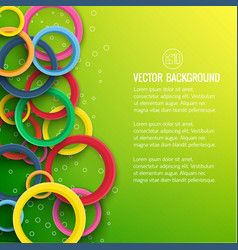 abstract geometric motion template vector image