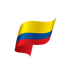 colombia flag vector image