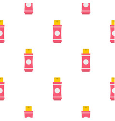 Deodorant pattern flat vector
