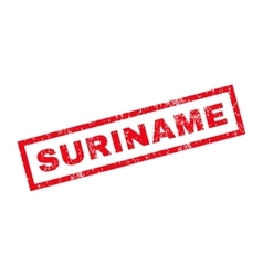 Suriname rubber stamp vector